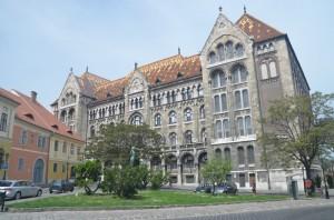 Budova maďarského archivu