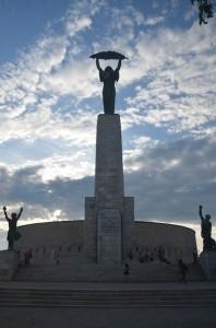 Maďarská socha Svobody
