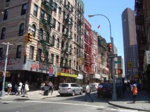 Newyorský svéráz v China Town :D