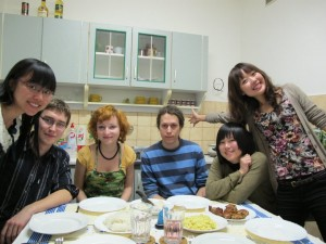 Photo from our goodbye and cooking party :)