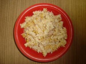 Kuřecí těstoviny