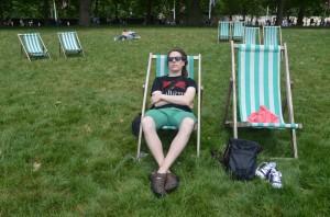 Odpočinek v St. James's Parku