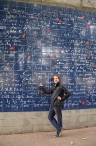 Zeď lásky :)