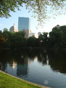 Podvečer v Bostonu...