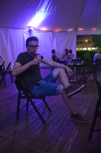 """Filip a jeho """"Čauky mňauky drink"""" :D"""