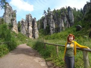 V Prachovských skalách