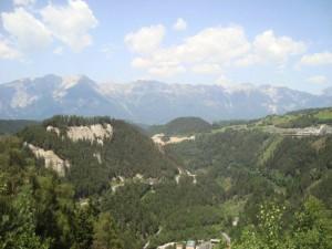 Poprvé v životě vidím Alpy :-)...