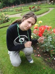 Jestřáb a růže :-)