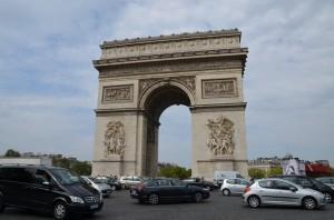 Šílená pařížská doprava