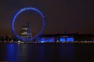 London Eye a Aquarium