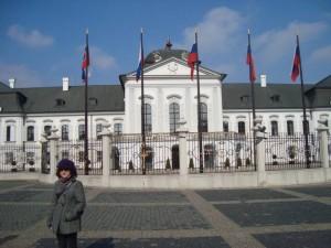 Před Prezidentským palácem