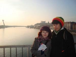 Dunaj a my