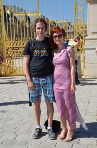 Versailles a my :)