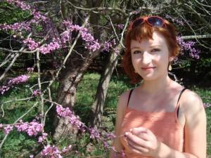 Květena v parku