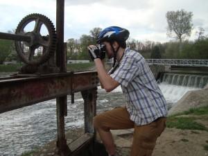 Míša a jeho retro-foťák