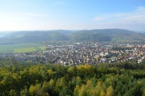 Krásný výhled na město...
