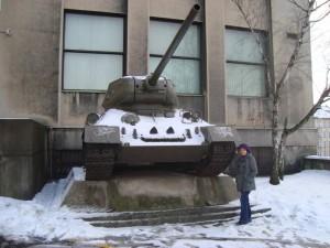 I tanky se umí smát :)...