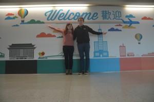 Konečně na Taiwanu!
